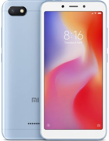 Xiaomi Redmi 6A 3/32gb Blue (Голубой) Global Version
