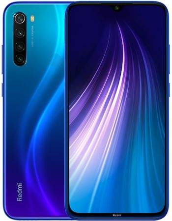 Xiaomi Redmi Note 8 6/64gb Blue (Синий)