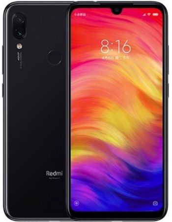 Xiaomi Redmi Note 7 4/64gb Black (Черный) Global Version