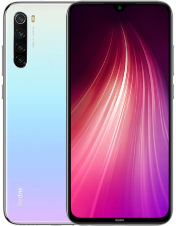 Xiaomi Redmi Note 8 6/64gb White (Белый) Global Version